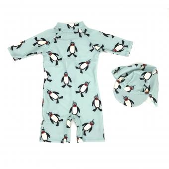 Zwempak Pinguin met Pet maat 110